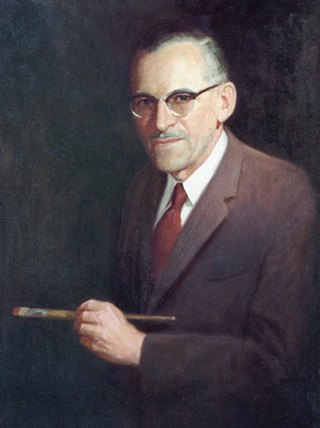 Self Portrait of Allan Edgar Kramer