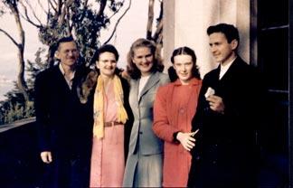 The Kramer family 1946