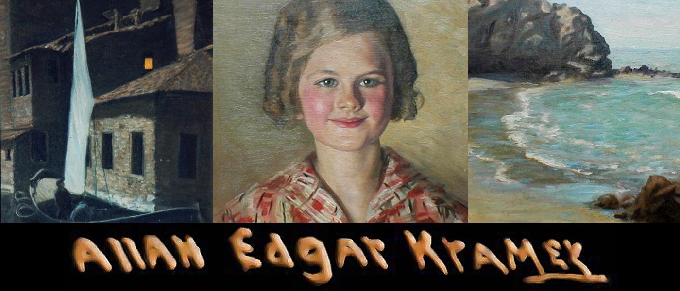 Three paintings by Allan Kramer